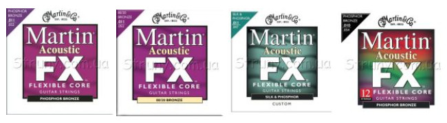 Струны Martin FX Flexible Core