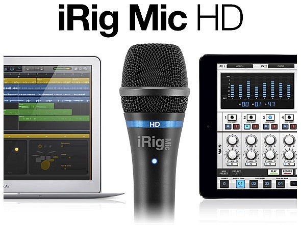 IK Multimedia IRIG MIC HD купить