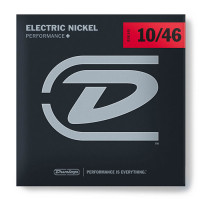 Dunlop DEN1046 Medium Nickel Plated Steel Electric Guitar Strings 10/46