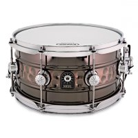 NATAL DRUMS BEADED HAMMERED STEEL SNARE Малый барабан