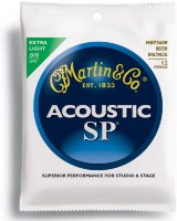 Martin MSP3600 SP Acoustic 80/20 Bronze Extra Light 12 Strings 10/47