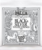 Ernie Ball 2406 Ernesto Palla Nylon Black & Silver Classical Guitar Strings