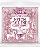 Ernie Ball 2409 Ernesto Palla Nylon Black & Gold Ball End Classical Guitar Strings