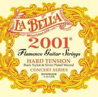 La Bella 2001FH Classical Flamenco Hard Tension