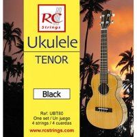 Royal Classics UBT80 Ukulele Black Tenor