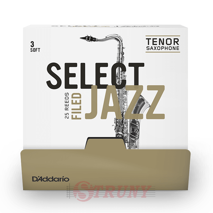 D'Addario Select Jazz - Tenor Sax Filed 3S - 25 Pack Трости тенор саксофона