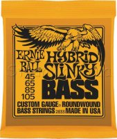 Ernie Ball 2833 Hybrid Slinky Bass Nickel Wound 45/105