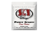 SIT PN1046 Light Power Groove Pure Nickel Electric Guitar Strings 10/46