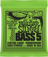 Ernie Ball 2836 Regular Slinky 5-string Bass Nickel Wound 45/130