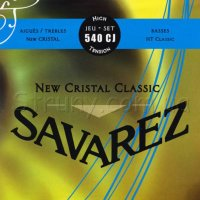 Savarez 540CJ New Cristal Classical Guitar Strings High Tension