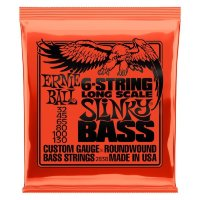 Ernie Ball 2838 Long Scale 6-String Slinky Bass Nickel Wound 32/130