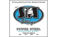 SIT PSR50105L Power Steel Stainless Medium Electric Bass Strings 50/105