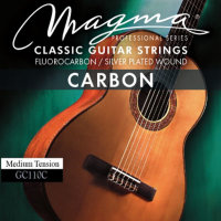 Magma Carbon GC120C Fluorocabon / Silver Plated Wound High Tension