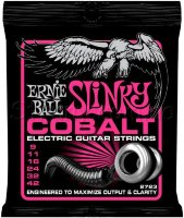 Ernie Ball 2723 Cobalt Slinky Electric Guitar Strings 9/42