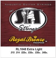 SIT RL1048 Extra Light Phosphor Bronze Acoustic Guitar Strings 10/48