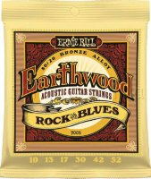 Ernie Ball 2008 Earthwood Acoustic 80/20 Bronze Light 10/52
