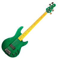 G&L L1505 FIVE STRINGS (Clear Forest Green, Maple) № CLF50934