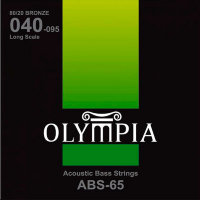 Olympia ABS65 Acoustic Bass Strings Bronze 40/95
