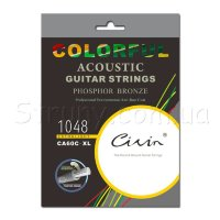 Civin CA60C XL Phosphor Bronze Extra Light Color 10/48