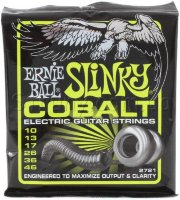 Ernie Ball 2721 Cobalt Slinky Electric Guitar Strings 10/46
