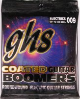 GHS CB-GBXL Coated Boomers Extra Light Electric Guitar Strings 9/42