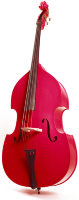 Stentor 1950LCRD Harlequin Rockabilly Double Bass Контрабас 3/4 (RED)