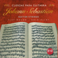 Johann Sebastian 810 Gold Alloy Flat Wound Medium Tension