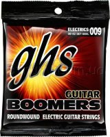 GHS GBXL Boomers Extra Light Electric Guitar Strings 9/42