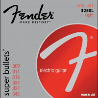Fender 3250L Super Bullets Light Electric Guitar Strings 9/42