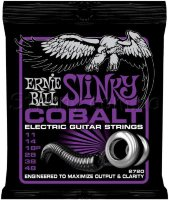 Ernie Ball 2720 Cobalt Slinky Electric Guitar Strings 11/48