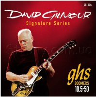 GHS GB-DGG Boomers David Gilmour Signature Electric Guitar Strings 10.5/50