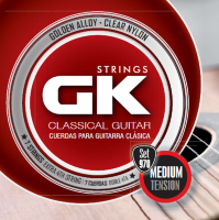GK 970 Golden Alloy Wound Clear Nylon Medium Tension