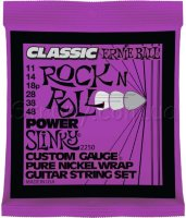 Ernie Ball 2250 Classic Pure Nickel Power Slinky 11/48