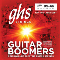 GHS GBCL Boomers Custom Light Electric Guitar Strings 9/46