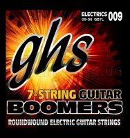 GHS GB7L Boomers Light Electric Guitar 7 Strings 9/58
