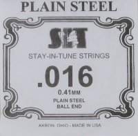 SIT Plain Steel Single .016