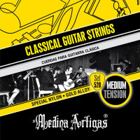 Medina Artigas Amarillo 520B Special Nylon / Bronze Plated Wound Medium Tension