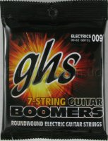 GHS GB7CL Boomers Custom Light Electric Guitar 7 Strings 9/62
