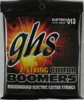 GHS GB7H Boomers Heavy Electric Guitar 7 Strings 13/74