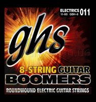 GHS GBH-8 Boomers Heavy Electric Guitar 8 Strings 11/85