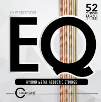 Cleartone 7811 EQ HYBRID METAL ACOUSTIC CUSTOM LIGHT 11-52
