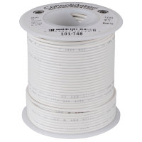 Consolidated 101-748 White Провод ПВС PVC 22AWG