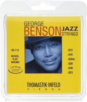 Thomastik-Infeld GB112 Medium Light George Benson Custom Flatwound Electric Guitar Strings 12/53