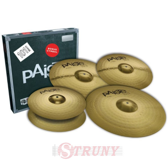 "Paiste 101 Brass Universal Set + Crash 14"" Набор тарелок"