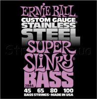 Ernie Ball 2844 Stainless Steel Super Slinky Bass 45/100