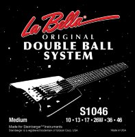 La Bella S1046 Double Ball Steinberger Electric Guitar Strings 1046