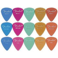 Fender 351 California Clear Guitar Pick Medium