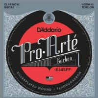 D'Addario EJ45FF Carbon Classical Silverplated Wound Nylon Normal Tension