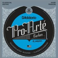 D'Addario EJ46FF Carbon Classical Silverplated Wound Nylon Hard Tension