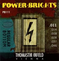 Thomastik-Infeld Power Bright PB111 Regular Bottom Medium Electric Guitar Strings 11/46